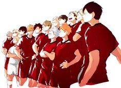 Just a tons of Haikyuu photos. Haikyuu Funny, Haikyuu Manga, Haikyuu Fanart, Anime Manga, Oikawa, Kuroo, Kagehina, Iwaoi, Haikyuu Volleyball