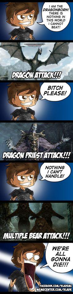 Skyrim's Greatest Threat