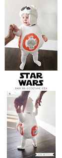 Star Wars Baby BB-8 Costume idea. Check it out on the blog! | Designs by TiffanyCo