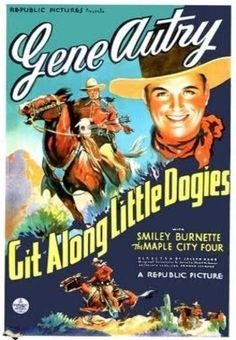 Git Along Little Dogies    - FULL MOVIE - Watch Free Full Movies Online: click and SUBSCRIBE Anton Pictures  FULL MOVIE LIST: www.YouTube.com/AntonPictures - George Anton -   Plot: When war breaks out between oilmen and cattle ranchers, Gene sides with the ranchers until he learns that oil will bring a railroad to town.