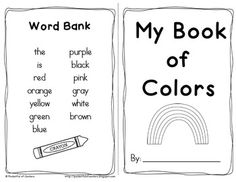 I Like Fall! Emergent Reader Book -- printable freebie for preschool ...
