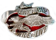 Live To Ride, Ride To Live Die Cast Belt Buckle http://bikeraa.com/live-to-ride-ride-to-live-die-cast-belt-buckle/