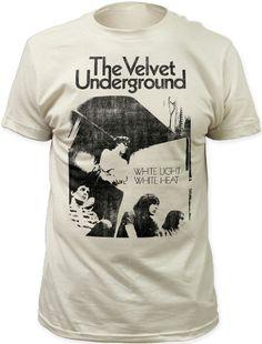 The Velvet Underground Vintage Album Cover T-shirt - White Light White Heat  Back Album Cover Artwork. Men s White Shirt 6895f0abd64