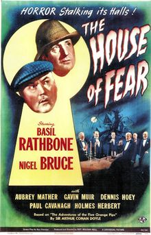 """Sherlock Holmes and the House of Fear"" (1945)"