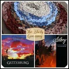What could be better than an absorbing book? The perfect movie soundtrack to go with it! Toss in a handmade rug to sink your toes into while you read, and you've got it made. The Liberty Give-away! Click image to enter the drawing. Open until May 17.