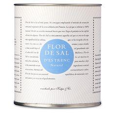 FLOR DE SAL D'Es Trenc natural salt crystals 180g