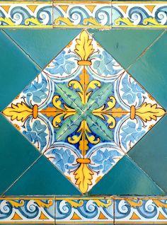 Tile from Barcelona, #Spain