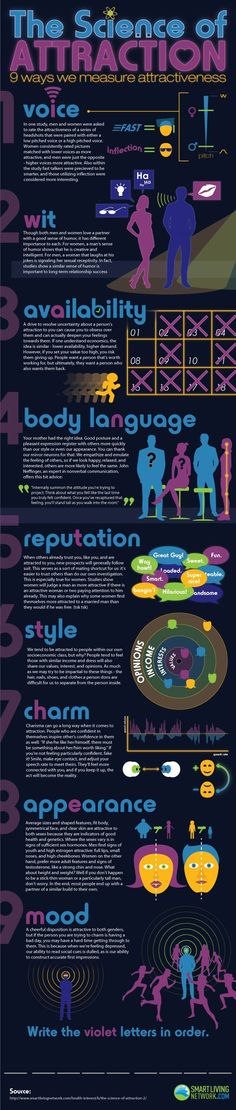 The Science of Attraction Infographic