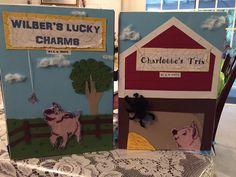 Charlotte's Web cereal box book report... 3rd grade