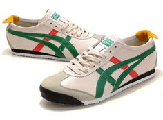 Onitsuka Tiger Mexico 66, Beige Green Red