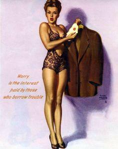 Marilyn Monroe ~ by Earl Moran