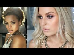 Beyonce Inspired Makeup Tutorial ♡ Golden Glow & Smouldering Eyes