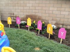 Cute Popsicle Party Decorations