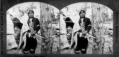 Ojibwa man - circa 1875