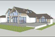 Extending a dormer bungalow by John Morris Architects Nottingham
