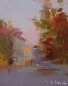 Modern impressionist painting Abstract oil painting by Pysar