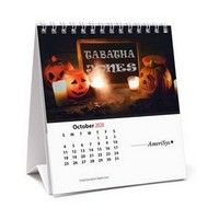 Tent Style Desk Calendar With Personalized Name In Every Picture What Is More Exciting For Someone Than Seeing Their Na Desk Calendars Desk Calendar