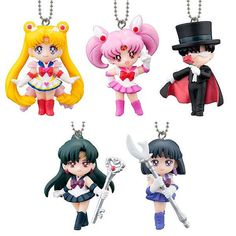 5sets/Bandai Sailor Moon  Mini Petit Swing by japanVINTAGEtoy, $40.00