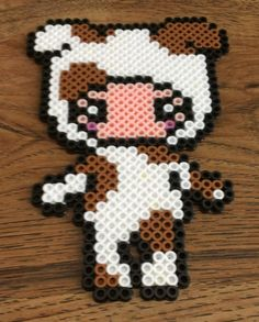 """This is a made-to-order item. Colors may vary slightly.    Each item is handmade by me using Perler, Hama, and Nabbi beads.    Finished product is approximately 3.5"""" x 5.5"""".    I will ship out your item within 2 business days of cleared payment."""