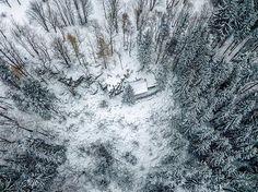 #ostravice #lysahora #beskydy #hory #dji #mavicpro #zima #winter #snih #mountains #aerial #photo