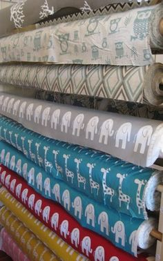 Fabric worm -- great fabric website! - such cute prints I haven't seen anywhere else.