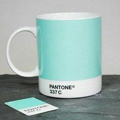 Duck Egg Pantone Mug 337 C £8.25 - Mugs - Pantone Mugs ILLUSTRATED ...