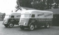 DAF truck,7-strepers Manders Autodiensten  1950
