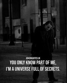 Joker Quotes #Jokerquotes #Quotes Quotes By Famous People, Famous Quotes, Quotes To Live By, Love Quotes, Best Joker Quotes, Monster High Art, Quotes That Describe Me, Sad Pictures, Dark Quotes