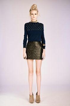 knitwear & stud detailing ♥