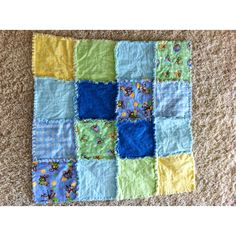 Another rag quilt I made.