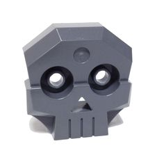 Lego® Indiana Jones Skull 1 x 4 x 3 Relief with Two Pins - Indiana Jones Skull, Lego Indiana Jones, Lego Factory, Rock Panel, Gray Rock, 21st Century Learning, Lego Parts, Orange Pattern, Skills To Learn