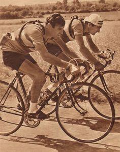 Tour de france 1951 l 39 quipe ouest sud ouest georges for Bernard werber le miroir de cassandre
