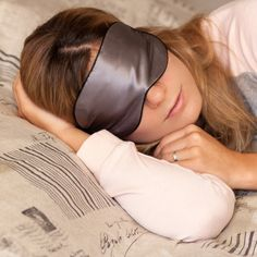 Sleep Mask. Anti-Aging. 100% Pure Mulberry Silk Mask, Luxury Gift Box. Copper ion Sleeping Mask by Sleep Fountain. Get an Eye Mask Facial & Beat InsomniaAnti Wrinkle Tech. For Home, Travel, Men, Women. Sleep better - look great. Clinically proven.