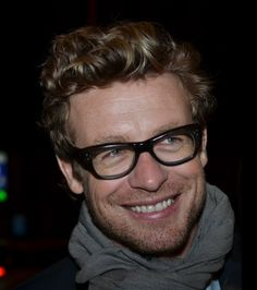 Simon Baker in Paris, France
