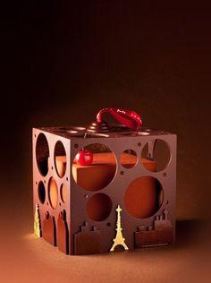 Chocolate creation by Maison du Chocolat