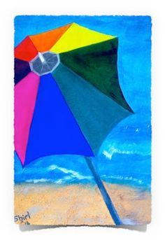 Umbrella: Acrylics on Canvas Art of Creativity Studio Studio Art, Art Studios, Acrylics, Ethereal, Art Projects, Creativity, Mermaid, Birds, Fantasy