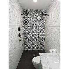 Jun 2018 - SomerTile Art Grey Porcelain x Floor/Wall Tiles (Case of Small Bathroom Colors, Bathroom Design Small, Bathroom Interior Design, Small Bathroom Showers, Small Full Bathroom, Kitchen Small, Home Wall Colour, Wall Colors, Upstairs Bathrooms