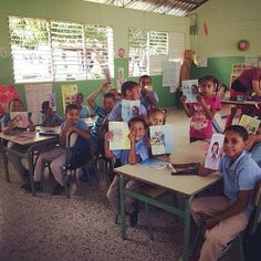 Dominican Republic the brothers are allowed to preach in this school every Wednesday and Friday.