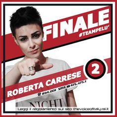 #RobertaCarrese #TeamPelù #TVOI #FINALE