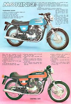 Moto Morini 350 tre e mezzo Motore progettato da Lambertini ingegnere Ferrari. Cars And Motorcycles, Custom Motorcycles, Indian Motorcycles, Custom Bikes, Three Wheel Bicycle, Bike Poster, Motorcycle Manufacturers, Bmw, Motorcycle Art