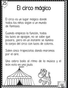 Spanish Lessons For Kids, Spanish Teaching Resources, Spanish Language Learning, Speech Activities, Preschool Learning Activities, Preschool Writing, Kids Education, Reading Comprehension, Words