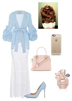 """""""Untitled #275"""" by bizzybelle16 on Polyvore featuring Nightcap, Johanna Ortiz, Gianvito Rossi, Kate Spade, Casetify and Viktor & Rolf"""
