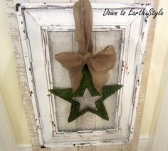 How to Distress using Vaseline and Spray Paint. A Salvaged Frame...Sue 2013