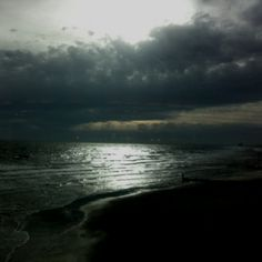 Stormy sunrise - outer banks