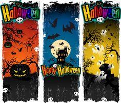 10 Excelentes vectores gratis de Halloween – Puerto Pixel | Recursos de Diseño