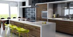 Cocinas para 2015, las tendencias en muebles, acabados y diseños