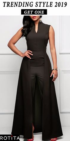 Sexy Jumpsuits and Rompers For Club, Evening Cocktail Party Frock Fashion, Fall Fashion Outfits, Trendy Outfits, Classy Outfits, Fashion Dresses, Emo Fashion, Dress Over Pants, The Dress, Fancy Dress