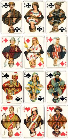 cards designed by Axel Rosmann - State Printing House in Tallinn, Unique Playing Cards, Playing Cards Art, Vintage Playing Cards, Tarot Decks, Deck Of Cards, Comic Books Art, Tarot Cards, The Magicians, Vintage Art