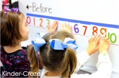 FREE download to create this cute interactive number line for your classroom (scheduled via http://www.tailwindapp.com?