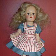 """SALE Vintage 14"""" Ideal Toni Doll  1949-1953"""